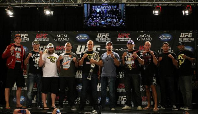 UFC 146 Weigh-In Results: Junior Dos Santos vs. Frank Mir Fight Card