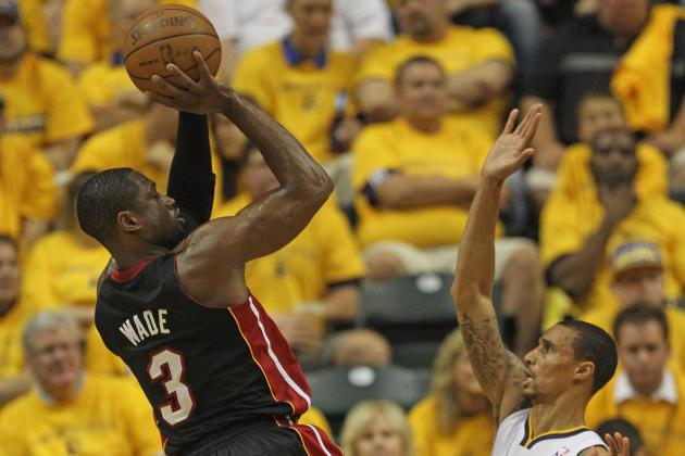 NBA Playoffs 2012: Miami Defeats Indiana 105-93