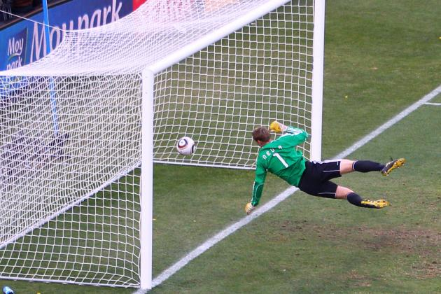 Goal-Line Technology to Be Tested When England Host Belgium at Wembley