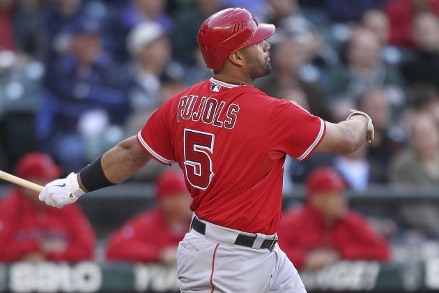 Albert Pujols Launches 450th Home Run, 4th Youngest to Reach 450 HRs