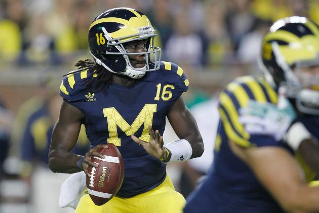 2013 NFL Draft: Is Michigan's Denard Robinson an NFL Caliber Quarterback?