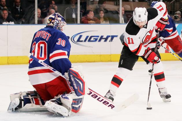 Stanley Cup Playoffs 2012: Stephen Gionta Gets Job Done for Devils in Game 5