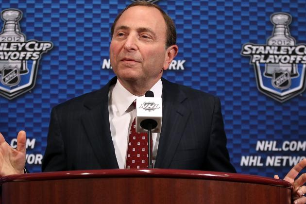 NHL's Gary Bettman Says NHL Owns New Year's Day