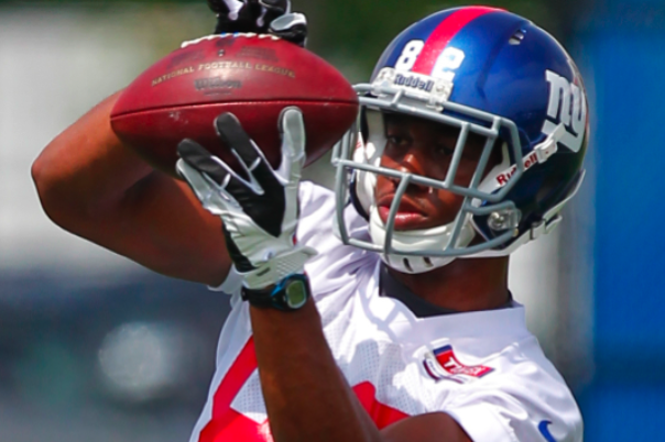 Nicks' Broken Foot Is a Golden Opportunity for Giants Rookie Rueben Randle