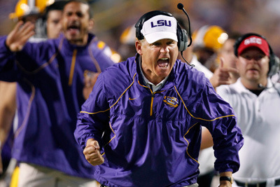 Why LSU Football Coach Les Miles Should Keep It Low Key in 2012