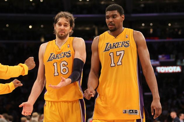 LA Lakers: Pau Gasol and Andrew Bynum Should Both Be Up for Trade