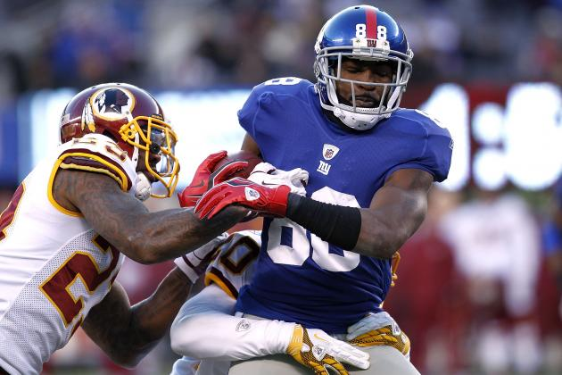 Fantasy Football: Hakeem Nicks' Injury and Its Effect on the Wide Receiver Class