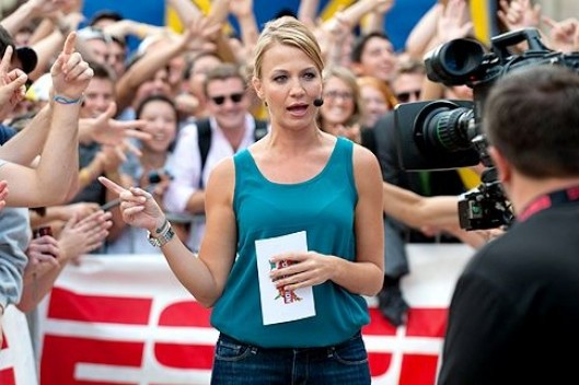 Michelle Beadle Winning ESPN Skirmish with Erin Andrews
