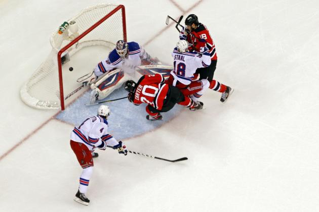 NHL Playoffs 2012: New Jersey Devils' 4th Line Delivers for Playoff Run