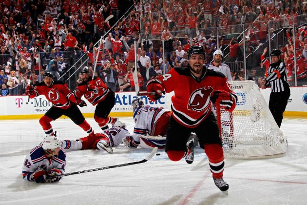 2012 Stanley Cup Playoffs: Henrique Does It Again in OT for Devils