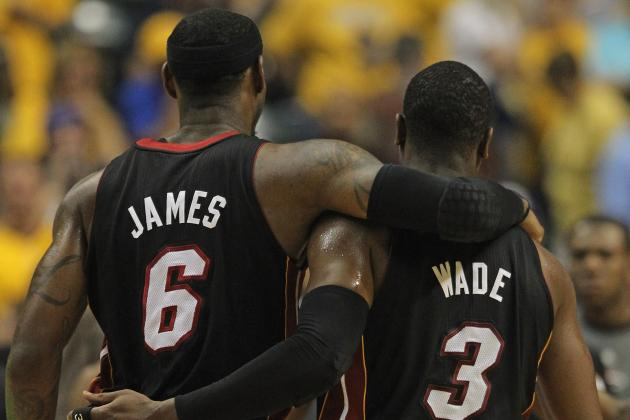 Chris Bosh May Not Return for ECF, but Wade and James Find Groove at Right Time