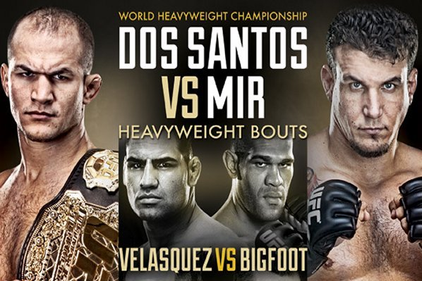 Dos Santos vs Mir Main Card: Which Fight Will Steal the Show?