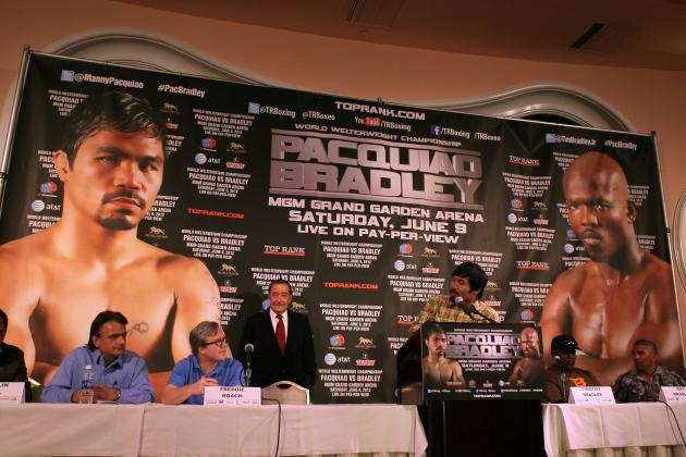 Pacquiao vs. Bradley Fight Time: What Time Does the Main Event Start?