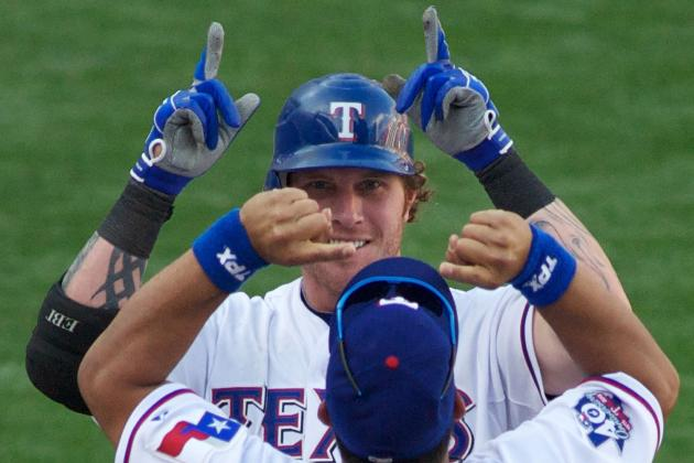 Josh Hamilton's Future with Texas Rangers in 'God's Hands'