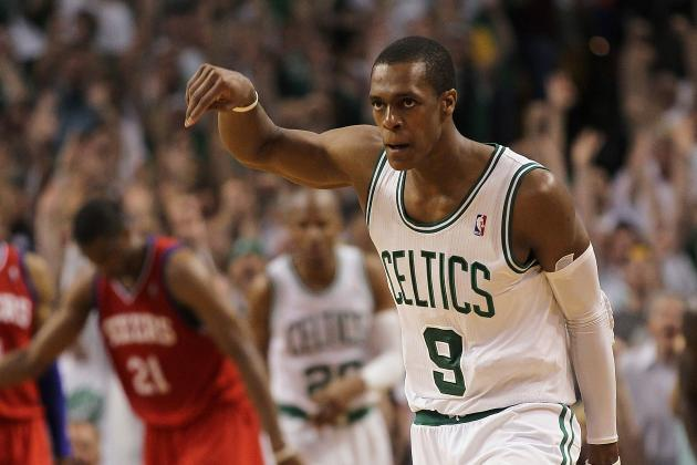 NBA Playoffs 2012: Boston Celtics' Rajon Rondo Becomes Paul Pierce to Vault C's