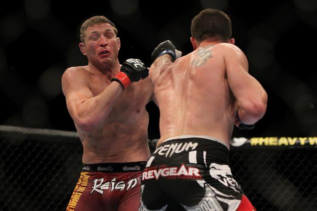 UFC 146 Results: Should the UFC Give Mayhem Miller One More Fight?