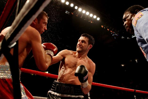 Boxing: Carl Froch Stops Lucian Bute in 5th Round