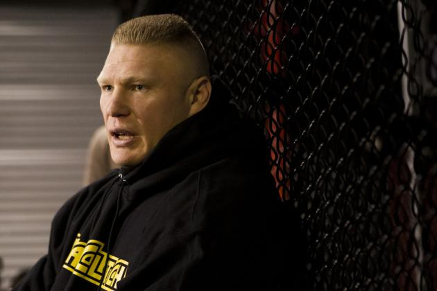 Dana White on Brock Lesnar UFC Return: 'Possibly, Yeah'