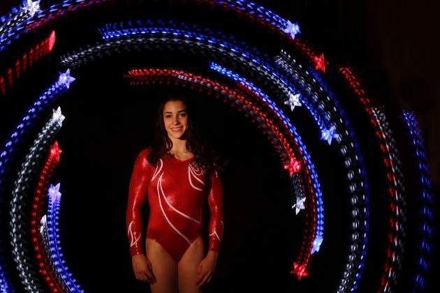 London 2012: Aly Raisman, Secret Olympic Weapon at the US Secret Classic