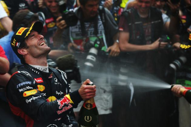 Mark Webber, Formula One 2012's Record 6th Winner at the Monaco Grand Prix
