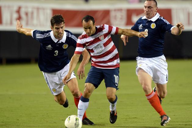 U.S. Men's Nationl Team vs. Scotland: USMNT Player Rankings