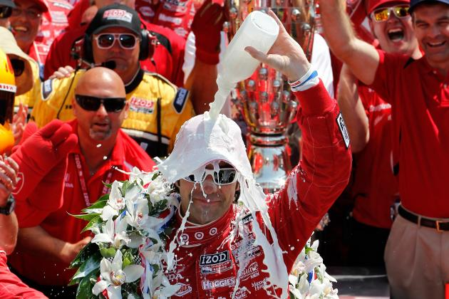 Indy 500 2012: Dario Franchitti's Legend Grows at Indianapolis Motor Speedway