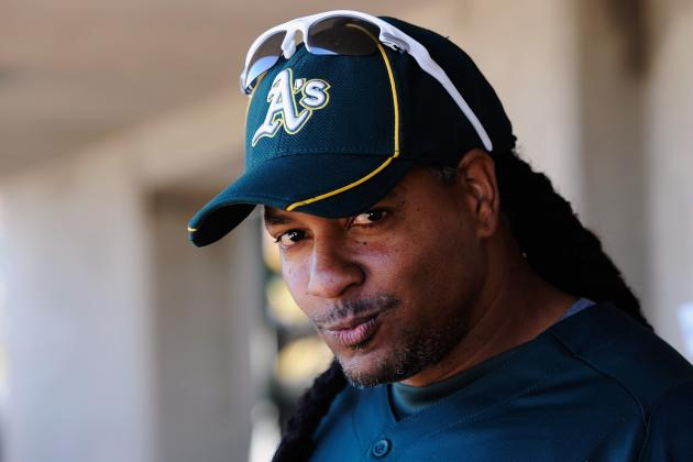 Manny Ramirez Unlikely to Return to Oakland A's Wednesday When Eligible