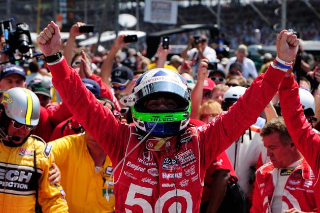 Dario Franchitti Dedicates Indy 500 Win to Dan Wheldon