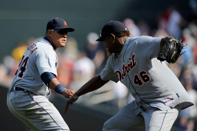 Miguel Cabrera's Bomb Caps Sweep of Twins, Tigers Head to Boston Hot