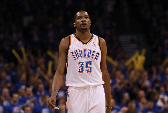 Kevin Durant hopes to lead his Thunder to their first NBA Finals.
