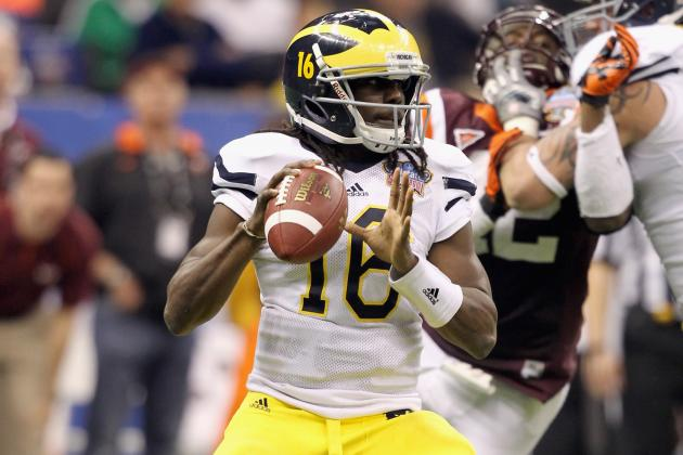 Michigan Football: How Denard Robinson Will Emerge as a Heisman Frontrunner