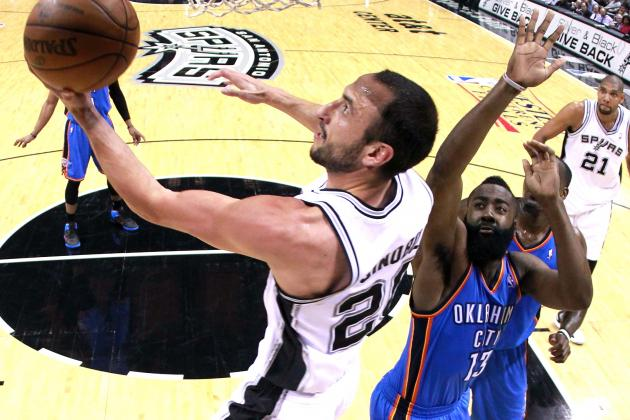 Thunder vs. Spurs: Manu Ginobili Stuns as San Antonio's Not-So-Secret Weapon