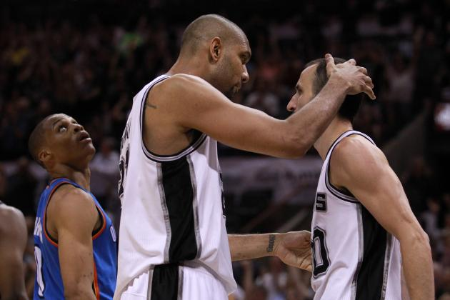 NBA Playoff Schedule 2012: Preview and Start Time of Thunder vs. Spurs Game 2