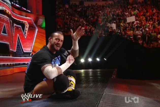 WWE Raw: Where, Oh Where Has CM Punk's Edge Gone?