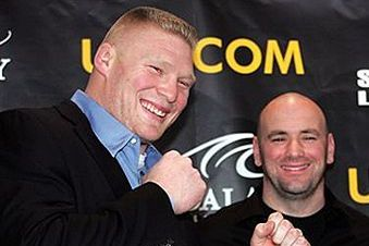 Brock Lesnar's Meeting with Dana White 'Didn't Go Too Well'