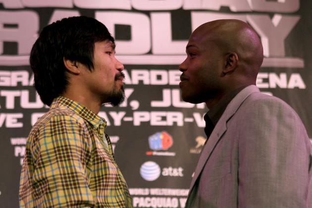 Pacquiao vs. Bradley: Bradley Already Planning Victory Party over Pacquiao