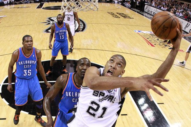 NBA Playoffs 2012: Experience Will Carry Spurs Past Thunder