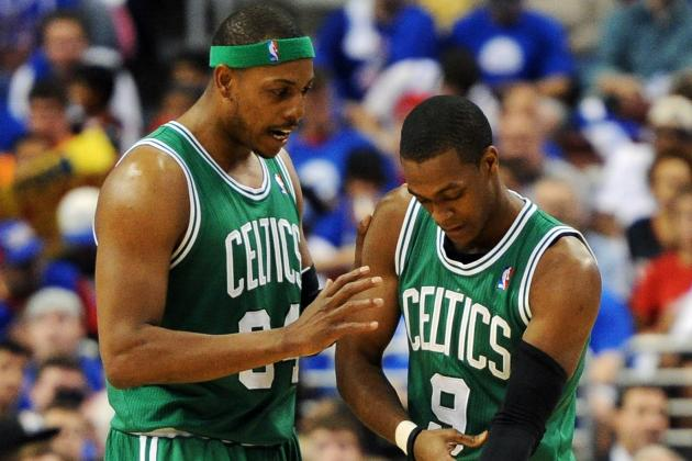 All Signs to NBA Finals for Celtics Read 'Rondo'