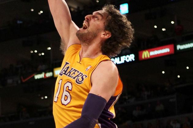 Report: Lakers' Pau Gasol Wants to Play for Chicago Bulls