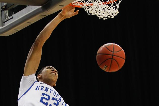 NBA Draft Lottery 2012: Would Any Team Not Take Anthony Davis No. 1?
