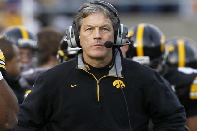 Iowa Hawkeyes' NFL Pipeline and .500 Big Ten Seasons