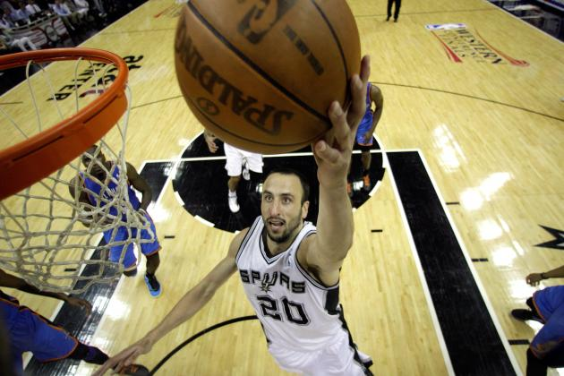 2012 NBA Playoffs:  Spurs Need Manu Ginobili to Bring Consistent Magic