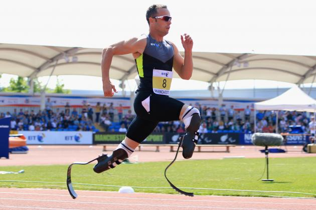 'Blade Runner' Oscar Pistorius a Symbol of Spirit Worldwide