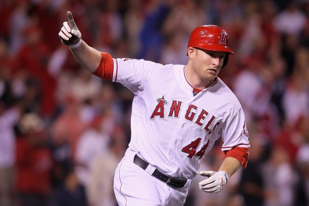 Mark Trumbo's Walk-off Brings LA Angels' Win Streak to 7, Ends Yankees' Streak