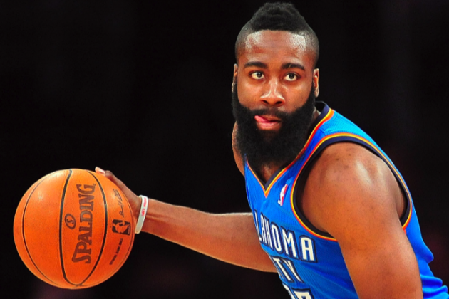 NBA Playoffs 2012: James Harden's Struggles Will Cost Thunder the Series