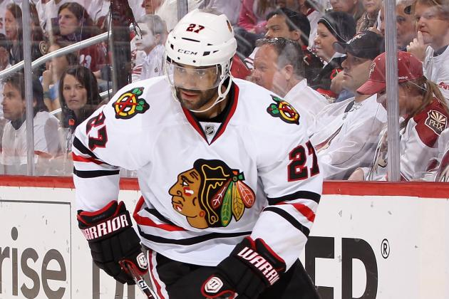 Chicago Blackhawks: Johnny Oduya and Jamal Mayers Re-Signed