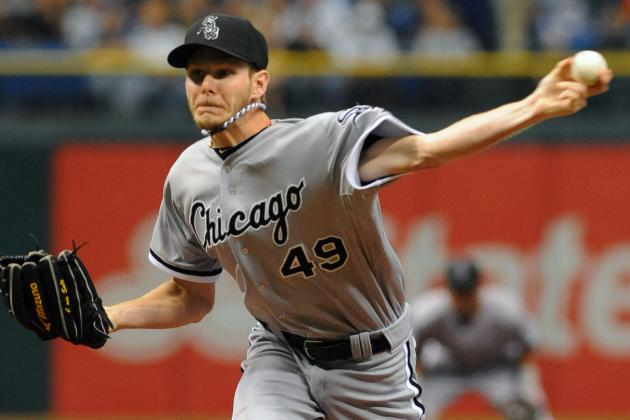 Chris Sale: Chicago White Sox Lefty Earns AL Best of the Night Award