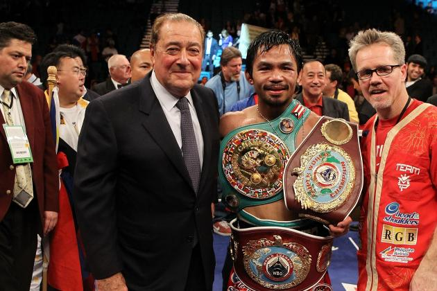 Manny Pacquiao: A History of His Relationship with Bob Arum