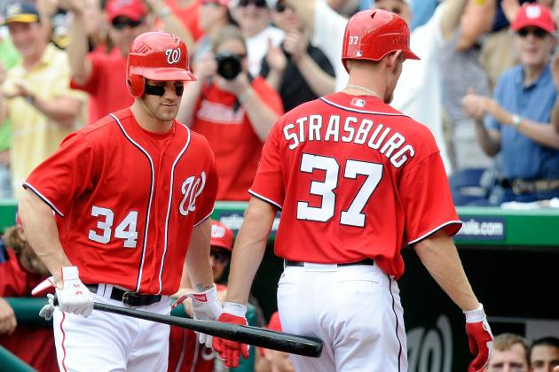 Nationals' Strasburg, Zimmermann Lead MLB's Best Hitting and Pitching Staff