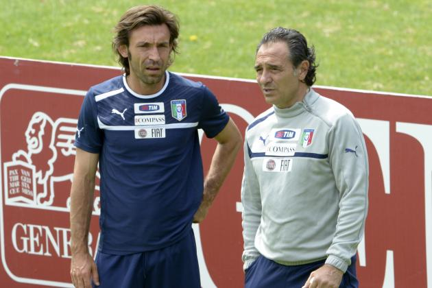 Euro 2012:  Italy's Final 23-Man Roster Set Following Destro and Ranocchia Cuts